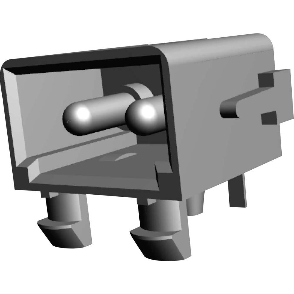Stiftkabinet-printplade MATE-N-LOK (value.1360599) Samlet antal poler 2 TE Connectivity 794120-1 Rastermål: 5.08 mm 1 stk