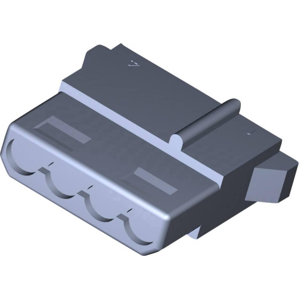 Tilslutningskabinet-kabel MATE-N-LOK Samlet antal poler 4 TE Connectivity 1-480424-0 1 stk