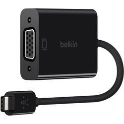 USB / VGA adapter [1x USB-C™ vtič => 1x VGA-vtičnica] črne barve Belkin