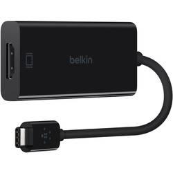 USB / HDMI adapter [1x USB-C™ vtič => 1x HDMI-vtičnica] črne barve Belkin