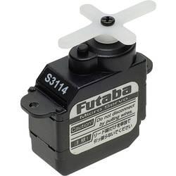 Futaba Micro-Servo S 3114 analogni servo, material pogona: plastika, vtični sistem: Futaba