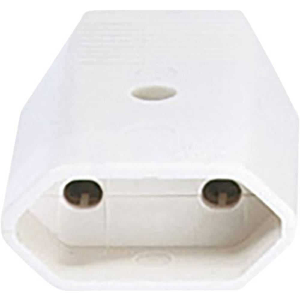 Euro-sklopka iz umetne mase 230 V bele barve IP20 Bachmann Electric 900.005