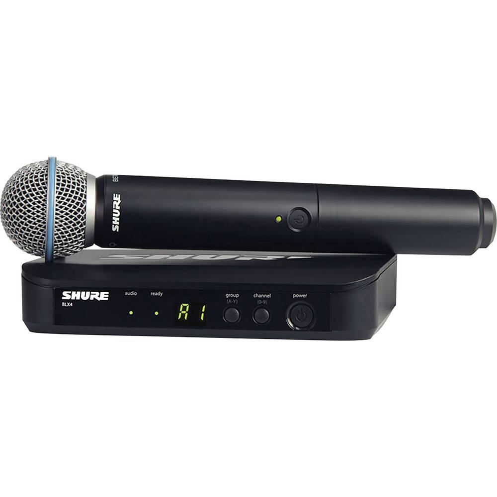 Brezžični mikrofon Shure BLX24E/B58-T11, komplet
