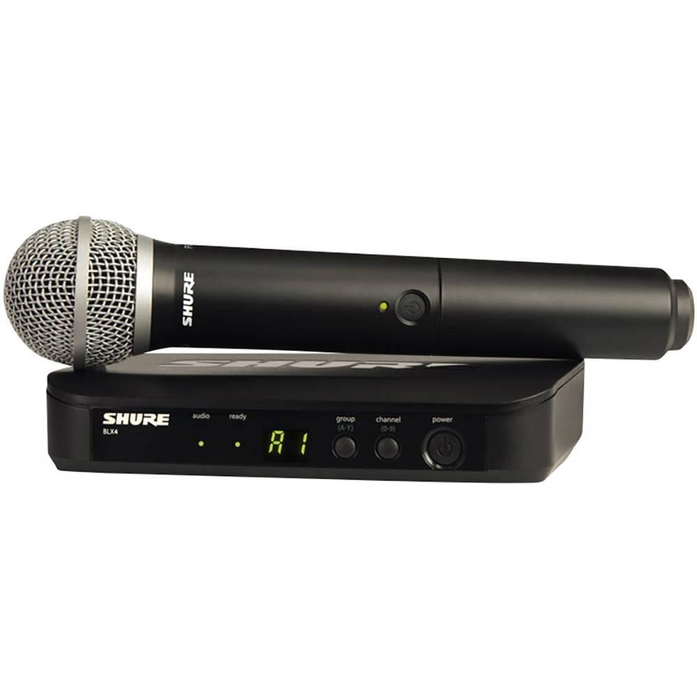 Brezžični mikrofon Shure BLX24E/PG58-T11, komplet