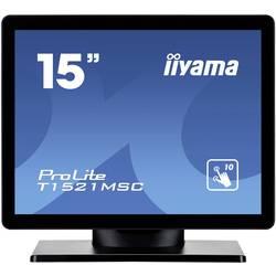 Zaslon na dotik 38.1 cm (15 ) Iiyama T1521MSC-B1 1024 x 768 pikslov 4:3 8 ms VGA, USB TN LED