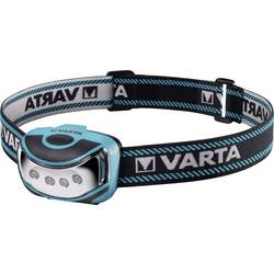 LED naglavna svetilka Varta Outdoor Sports baterijsko napajanje modra, črna 16630101421
