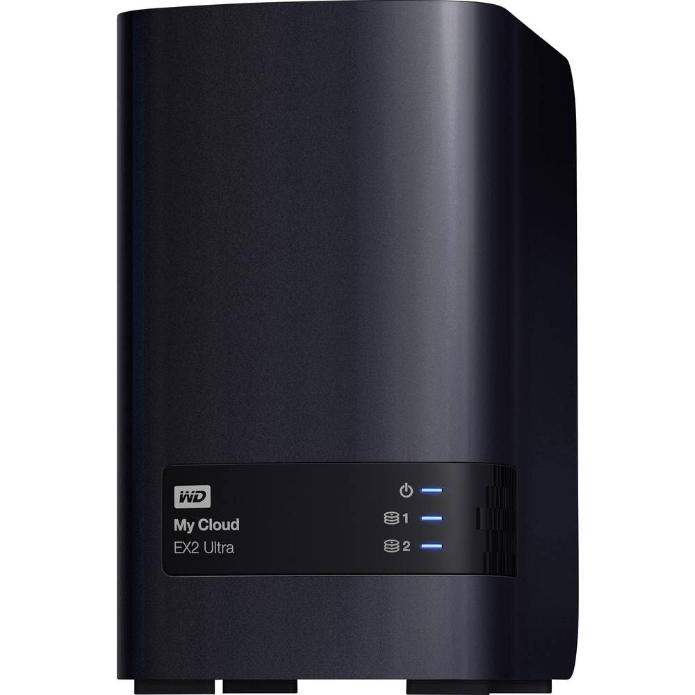 Ohišje za NAS-strežnik Western Digital My Cloud™ EX2 Ultra WDBVBZ0000NCH-EESN 2 Bay