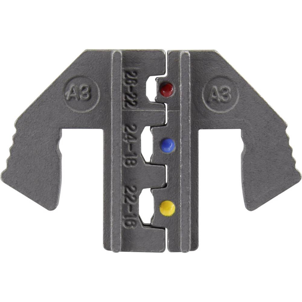 Umetak za krimpanje izoliranih kabelskih cipelica 0.1 do 1.5 mm TOOLCRAFT 1423368 pogodan za robnu marku TOOLCRAFT 1423556