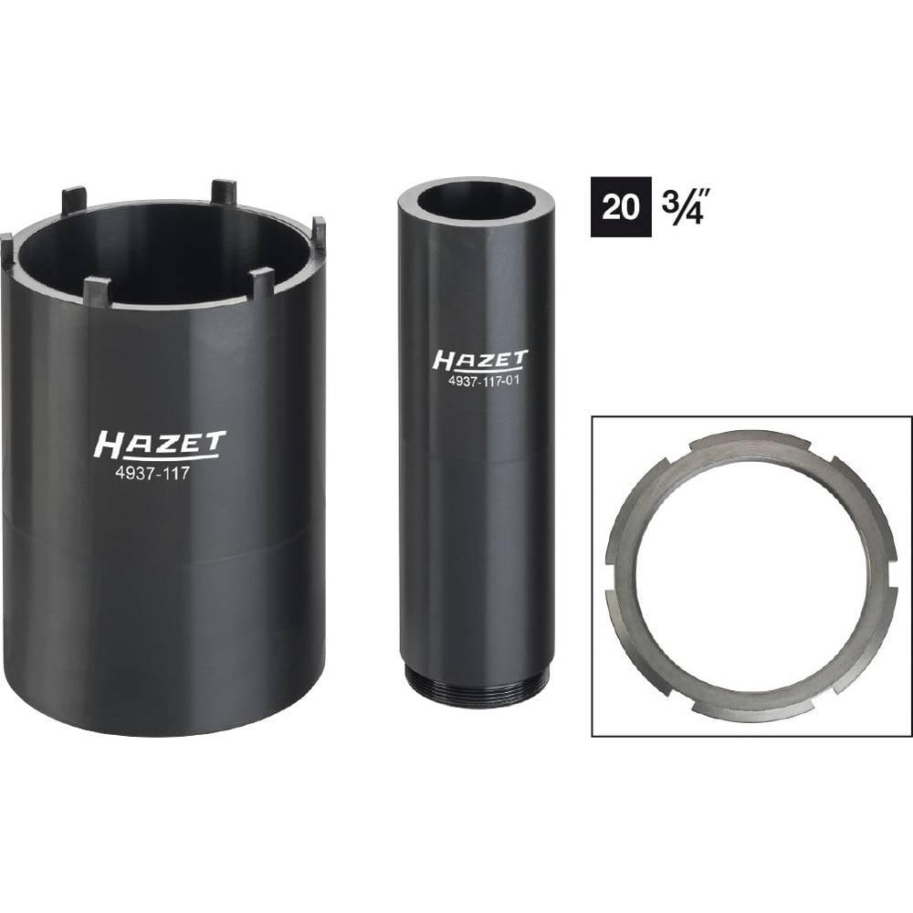 Zapf ključna stopa Hazet 4937-117/2