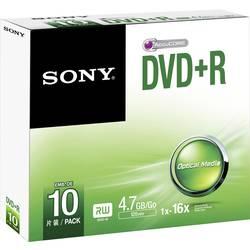 DVD+R ploščki 4.7 Sony DPR47SS 10 kosov, Jewelcase