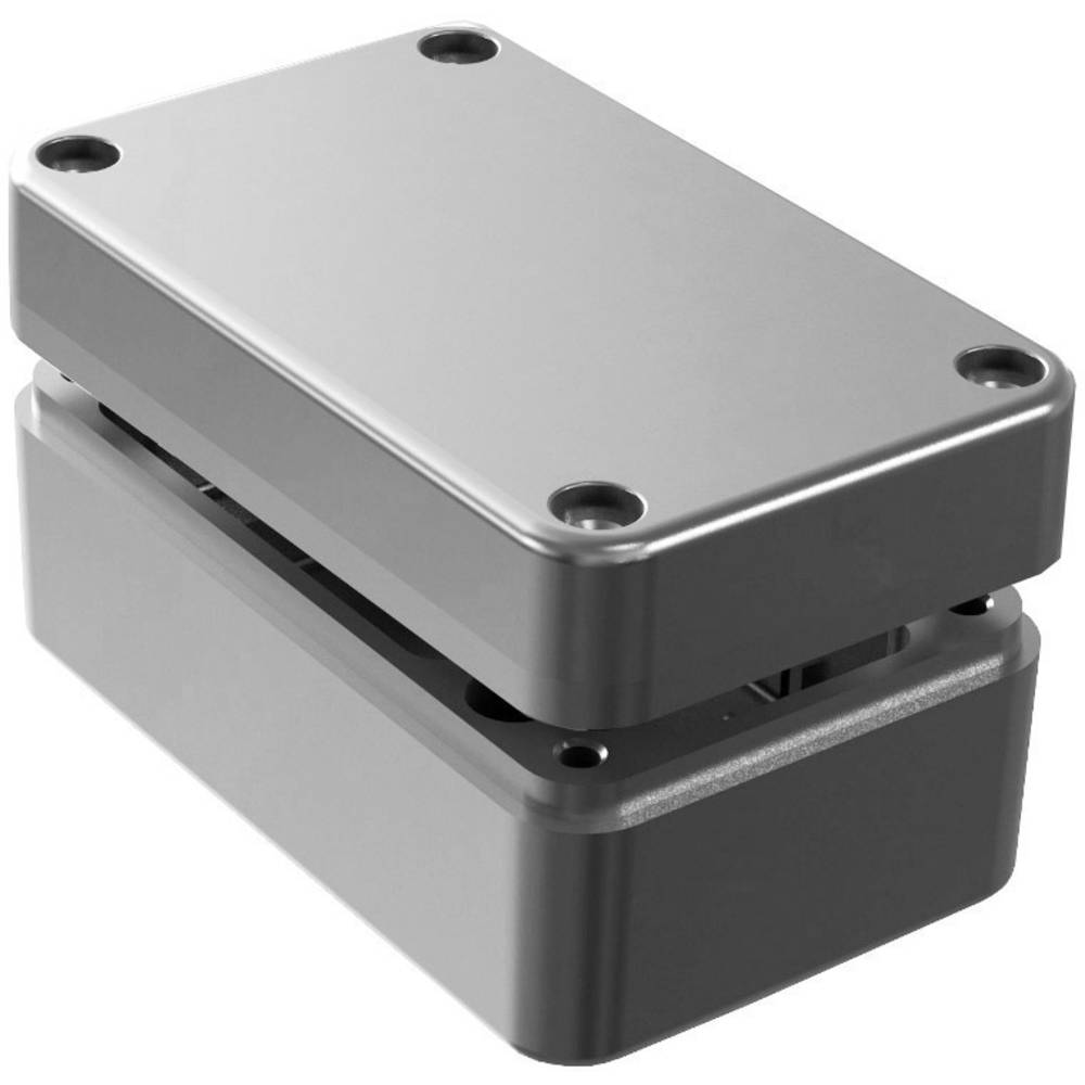 Universalkabinet 130 x 80 x 60 Aluminium Natur Deltron Enclosures 486-130806 1 stk