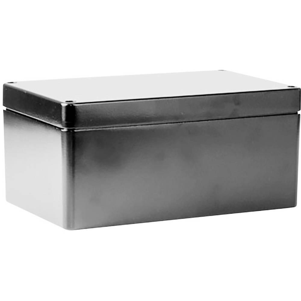 Universalkabinet 260 x 160 x 90 Aluminium Grå Deltron Enclosures 487-261609A 1 stk