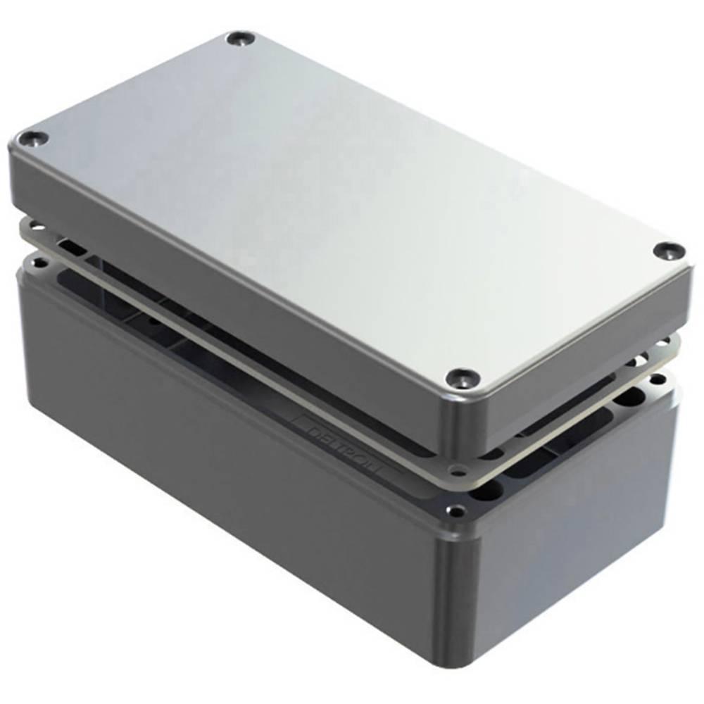 Universalkabinet 220 x 120 x 90 Aluminium Natur Deltron Enclosures 486-221209-66 1 stk
