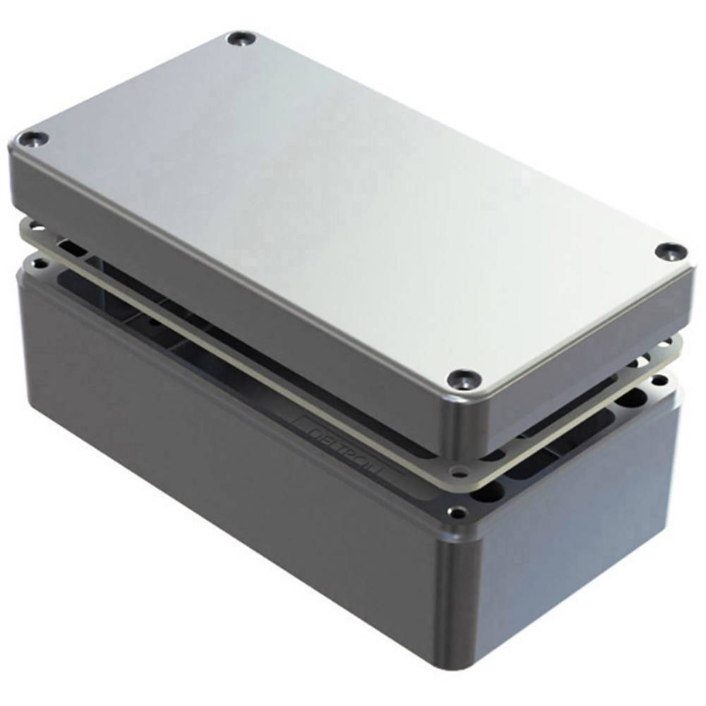 Universalkabinet 220 x 120 x 90 Aluminium Natur Deltron Enclosures 486-221209-68 1 stk