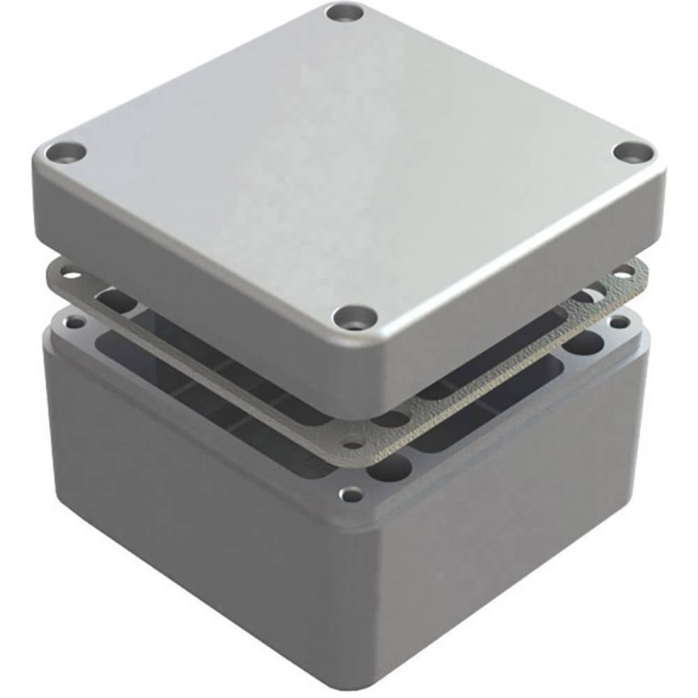Universalkabinet 125 x 125 x 90 Aluminium Natur Deltron Enclosures 486-121209-68 1 stk