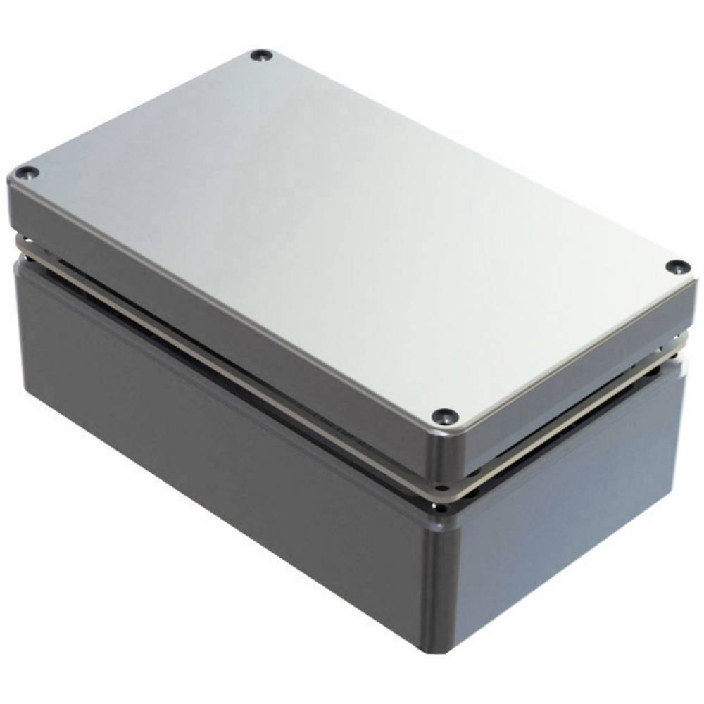Universalkabinet 260 x 160 x 90 Aluminium Natur Deltron Enclosures 486-261609-68 1 stk