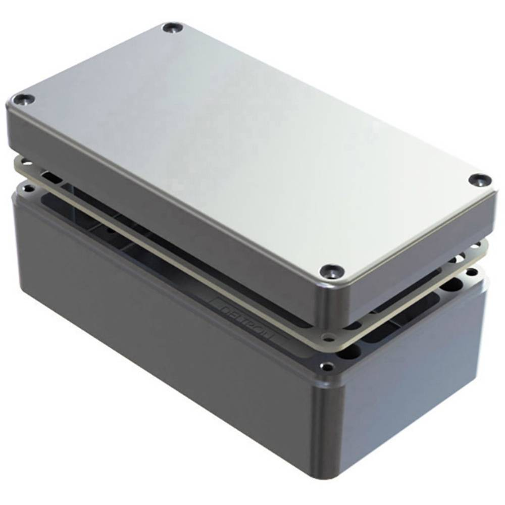 Universalkabinet 220 x 120 x 80 Aluminium Natur Deltron Enclosures 486-221208-68 1 stk