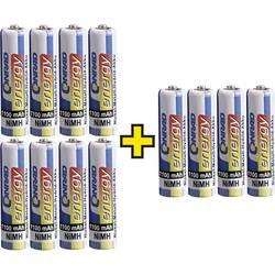 Conrad energy micro (AAA) akumulator NiMH 1100 mAh 1.2 V 12 St.
