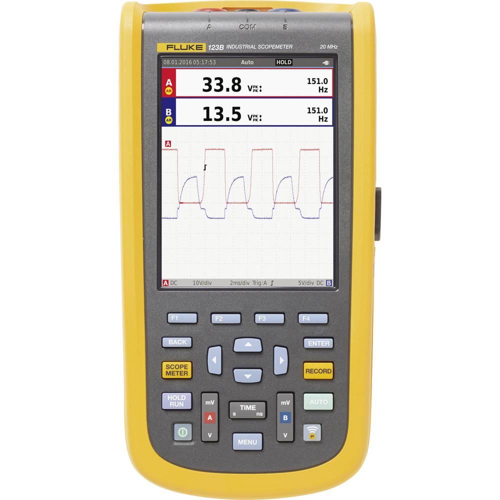 Ročni osciloskop (Scope-Meter) Fluke-123B/EU 20 MHz 4 kSa/s multi-meterska funkcija