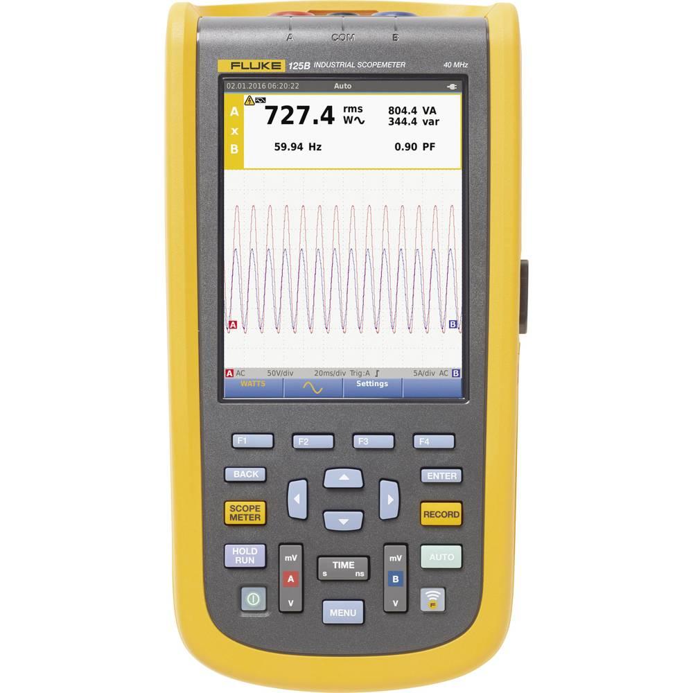 Ročni osciloskop (Scope-Meter) Fluke-125B/EU 40 MHz 4 GSa/s multi-meterska funkcija