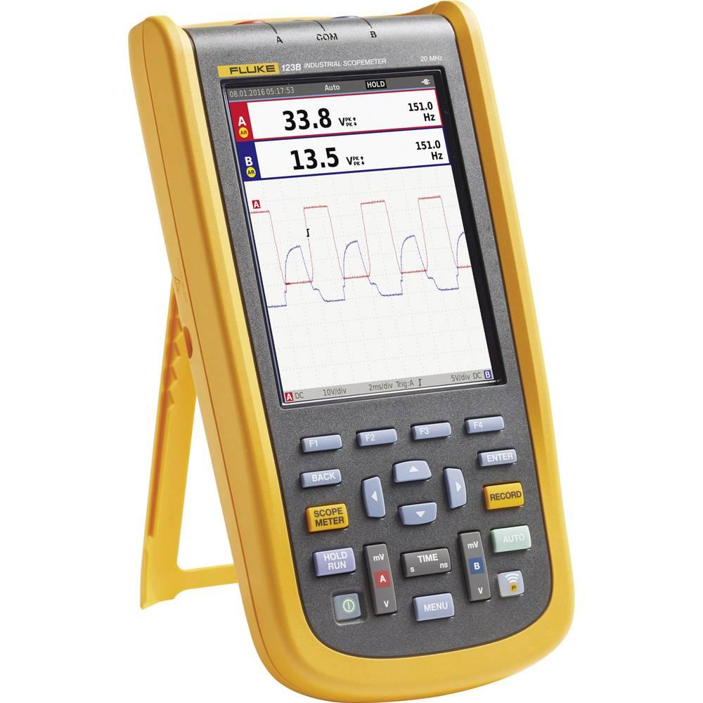 Ročni osciloskop (Scope-Meter) Fluke-123B/EU/S 20 MHz 4 GSa/s multi-meterska funkcija
