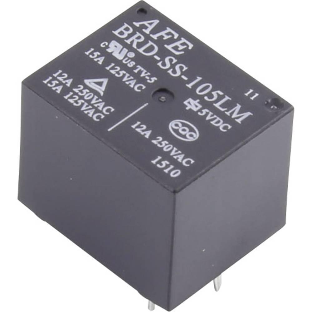 Printrelæ 5 V/DC 15 A 1 x sluttekontakt AFE BRD-SS-105LM 1 stk