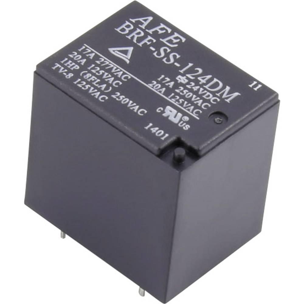 Printrelæ 12 V/DC 20 A 1 x sluttekontakt AFE BRF-SS-112DM 1 stk