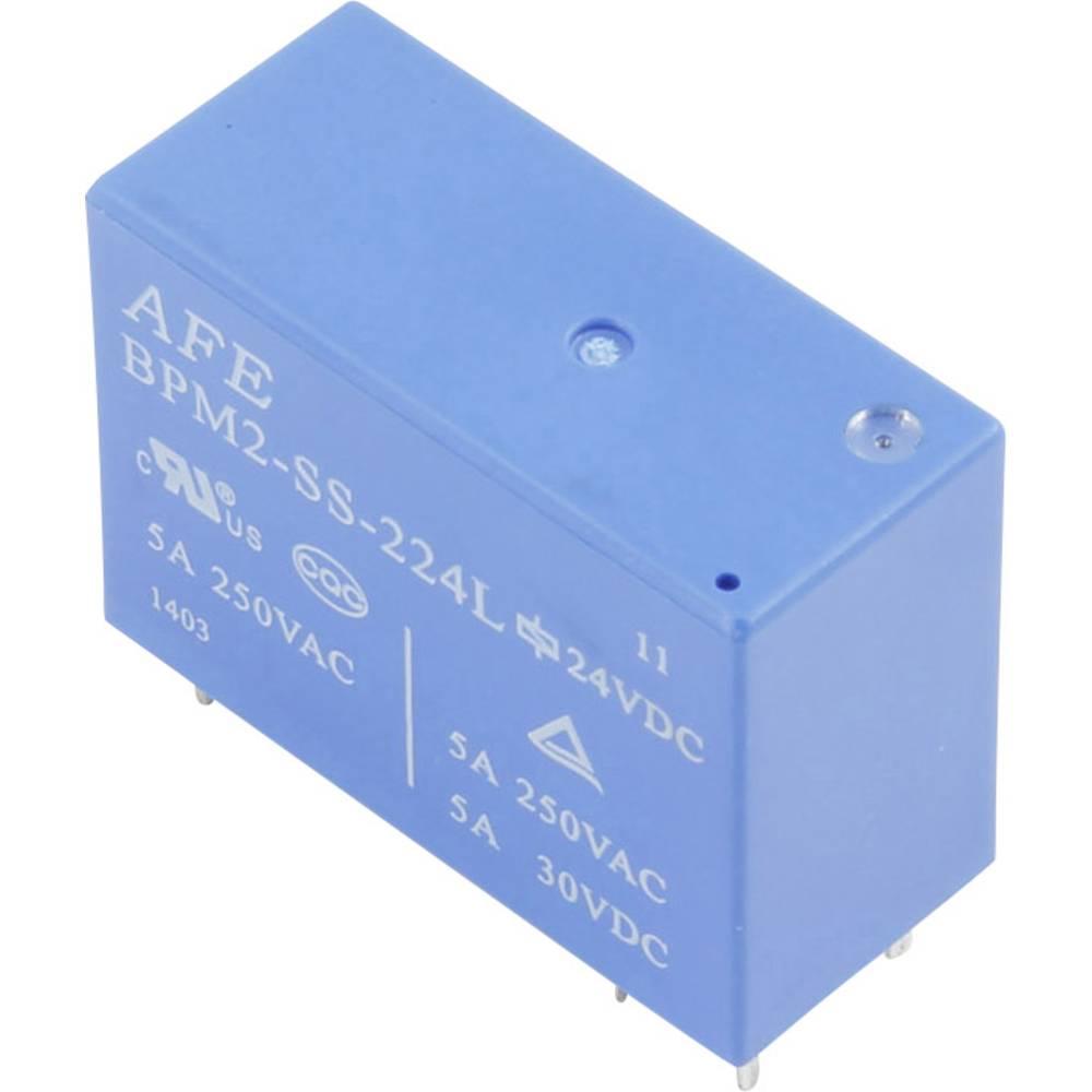 Printrelais (value.1292897) 24 V/DC 5 A 2 Schließer (value.1345272) AFE BPM2-SS-224LM 1 stk