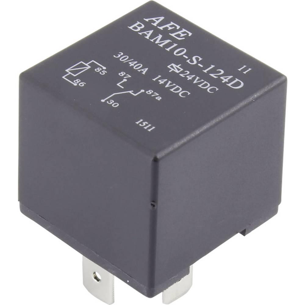 Kfz-Relais (value.1292934) 24 V/DC 30 A 1 Wechsler (value.1345271) AFE BAM10-S-124D