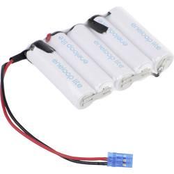aku paket 5x mignon (aa) kabel, vtikač nimh Panasonic eneloop Lite Reihe F1x5 6 V 1000 mAh
