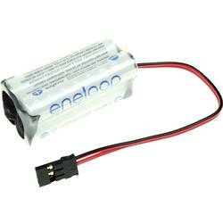 Akumulatorski paket Panasonic eneloop Würfel F2x2, 4.8 V, 750 mAh, 4 Micro (AAA), kabel, vtič