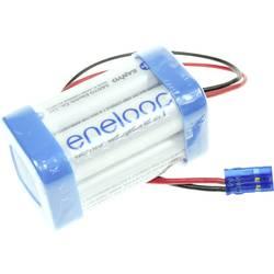 Akumulatorski paket Panasonic eneloop Würfel F2x2 Graupner 4.8 V 1900 mAh, 4 Mignon (AA), kabel, vtič