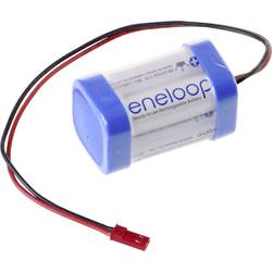 aku paket 4x mignon (aa) kabel, vtikač nimh Panasonic eneloop Würfel F2x2 BEC 4.8 V 1900 mAh