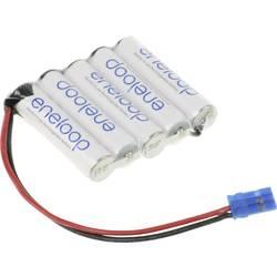 aku paket 5x micro (aaa) kabel, vtikač nimh Panasonic eneloop Reihe F1x5 6 V 750 mAh