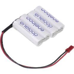 aku paket 4x mignon (aa) kabel, vtikač nimh Panasonic eneloop Reihe F1x4 BEC 4.8 V 1900 mAh