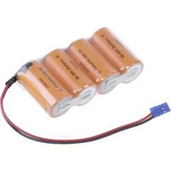 aku paket 4x sub-c kabel, vtikač nimh Panasonic Reihe F1x4 Graupner 4.8 V 3000 mAh