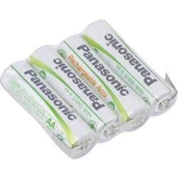 Akumulatorski paket Panasonic Reihe F1x4 4.8 V 1900 mAh, 4 Mignon (AA), U spajkalni priključek