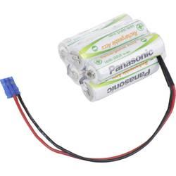 Akumulatorski paket Panasonic Würfel F2x2+1 Graupner 6 V 1900 mAh, 5 Mignon (AA), kabel, vtič