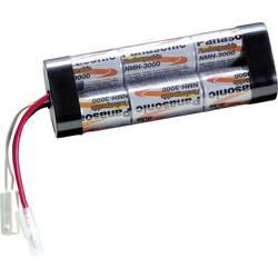 Akumulatorski paket 6 Sub-C Kabel, vtič NiMH Panasonic Inline L2x3 Tamiya 7.2 V 3000 mAh