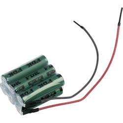Akumulatorski paket 6 Mignon (AA) Kabel NiMH FDK kocka F2x3 4.8 V 1650 mAh
