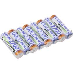 Akumulatorski paket 8 Mignon (AA) U spajkalni priključek NiMH Panasonic vrstica F1x8 9.6 V 2700 mAh