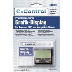 C-Control Display Programmierbares Grafik-Display Passer til (Arduino boards): Arduino UNO