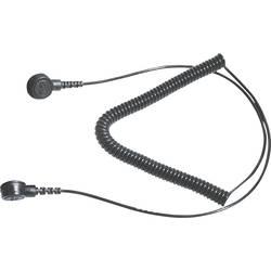 ESD ozemljitveni kabel 2.4 m Bernstein 9-342-2 pritisni gumb 3 mm, pritisni gumb 10 mm