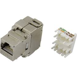 RJ45 Cat6 Hona rak Conrad Components 93013c1179 CAT 6 Metall 1 st