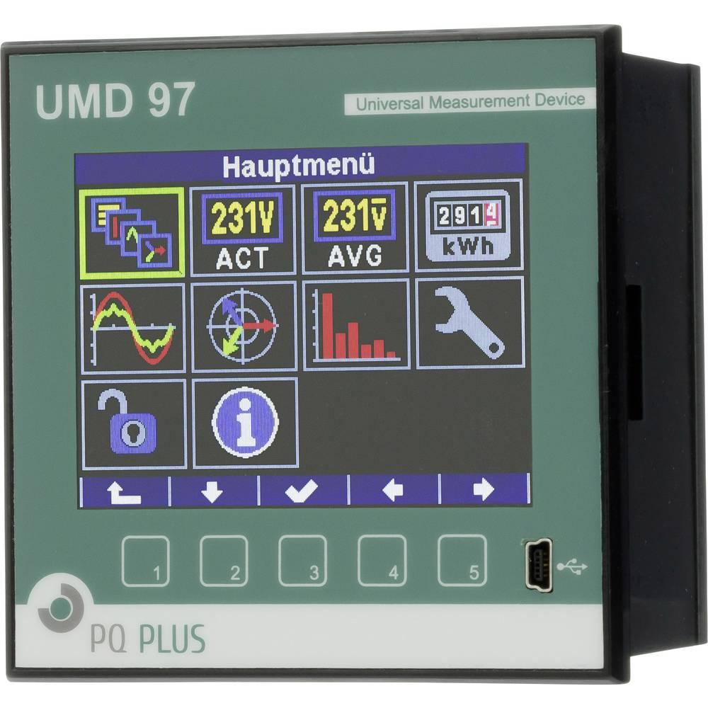 PQ Plus UMD 97EL UMD 97EL univerzalni mjerni uređaj - ugradnja na rasklopnicu - Ethernet - 512MB memorije