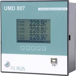 Univerzalni merilnik PQ Plus UMD 807E, RS485, Modubs Master, stikalna plošča, Ethernet, 512 MB pomnilnik, za montažo na DIN lete