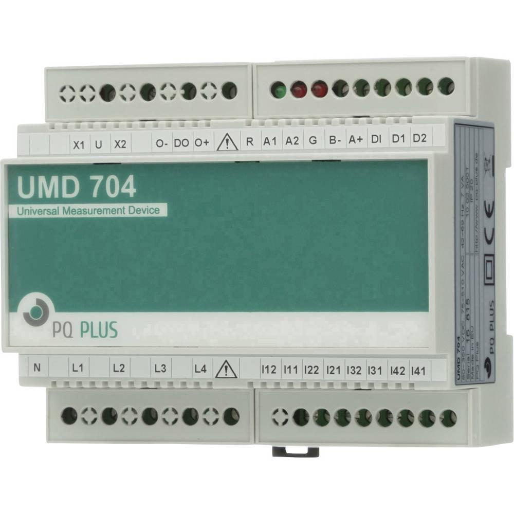 PQ Plus UMD 704M UMD 704M univerzalni mjerni uređaj - ugradnja na DIN šinu - M-Bus