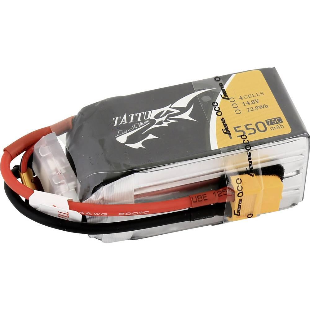 Modeliranje-baterija (LiPo) 14.8 V 1550 mAh 75 C Tattu XT60