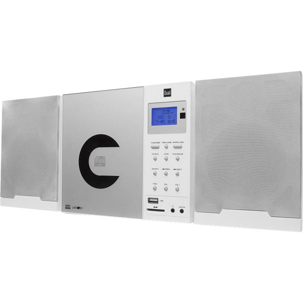 Stereo glazbena linija DAB 102 Dual AUX, CD, DAB+, SD, UKV, USB zidna montaža bijela
