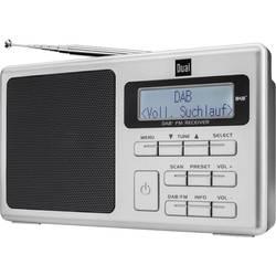 DAB+ Bärbar radio Dual DAB 70 Silver